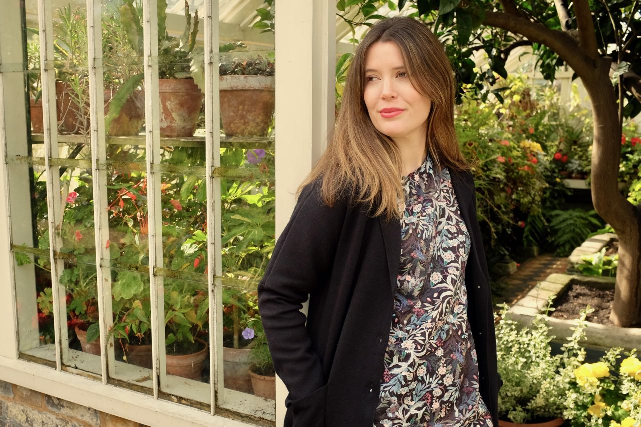 Thought clothing autumn collection at Peckover House garden