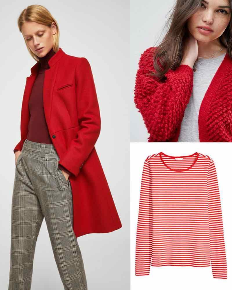 Marmalade Pie: red fashion picks