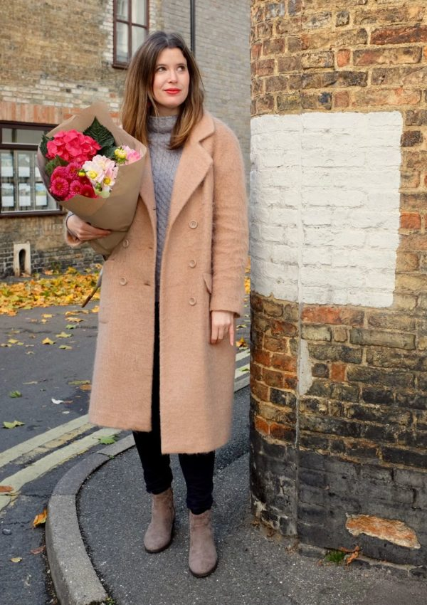 Beating the autumn gloom with fluffy coats and flowers