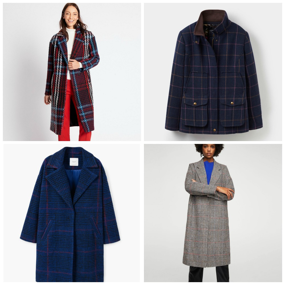 Marmalade Pie: My favourite checked coats