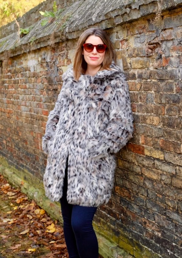 Yes, you can wear a leopard-print coat