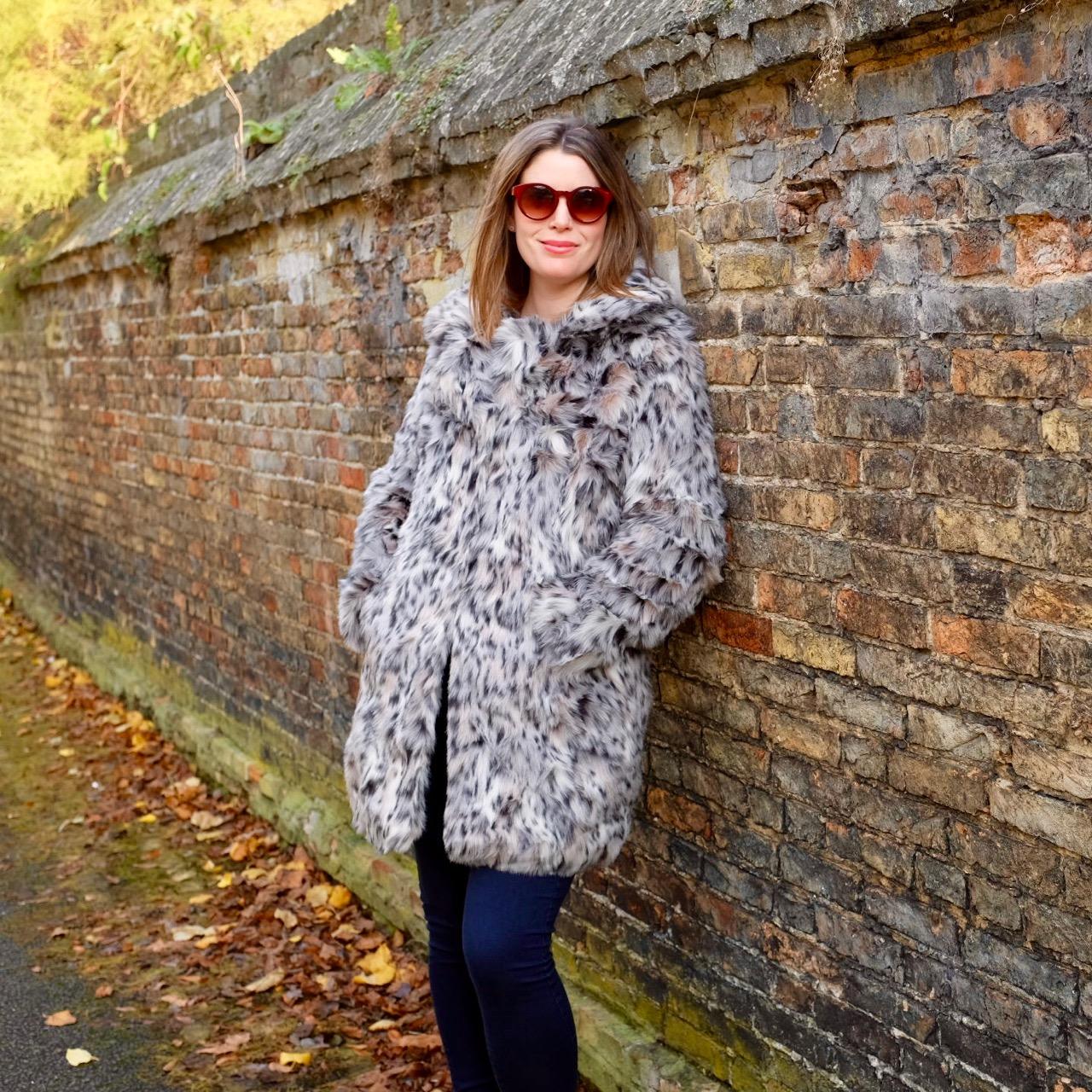 Leopard print coat by LOTD