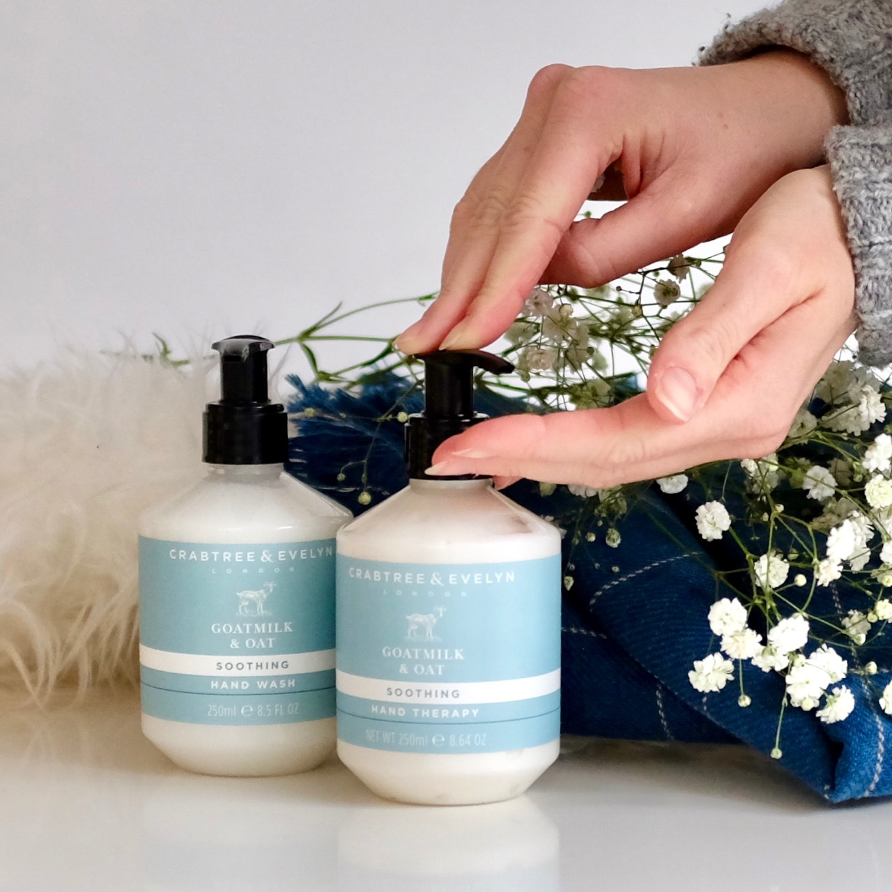 Crabtree and Evelyn Hand Therapy Goats Milk