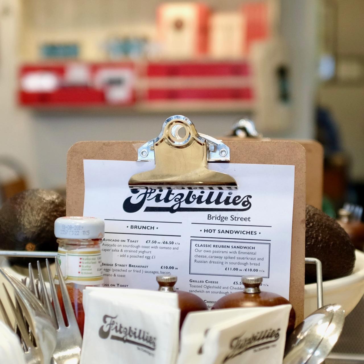 Fitzbillies on Bridge Street
