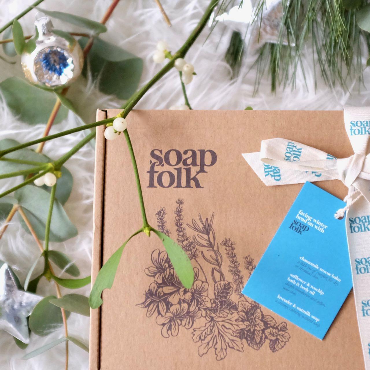 Soap Folk Winter Skin Box