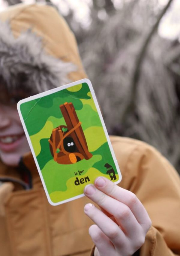 D is for Den – with BEAR Paws
