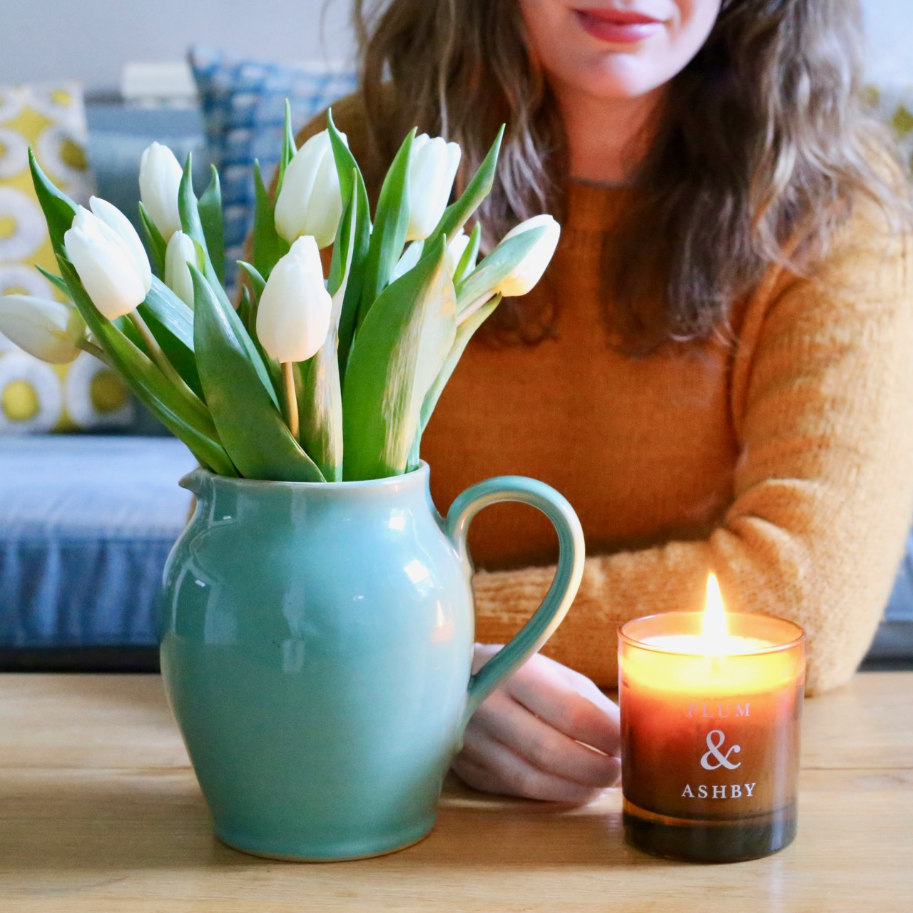 Plum & Ashby candle