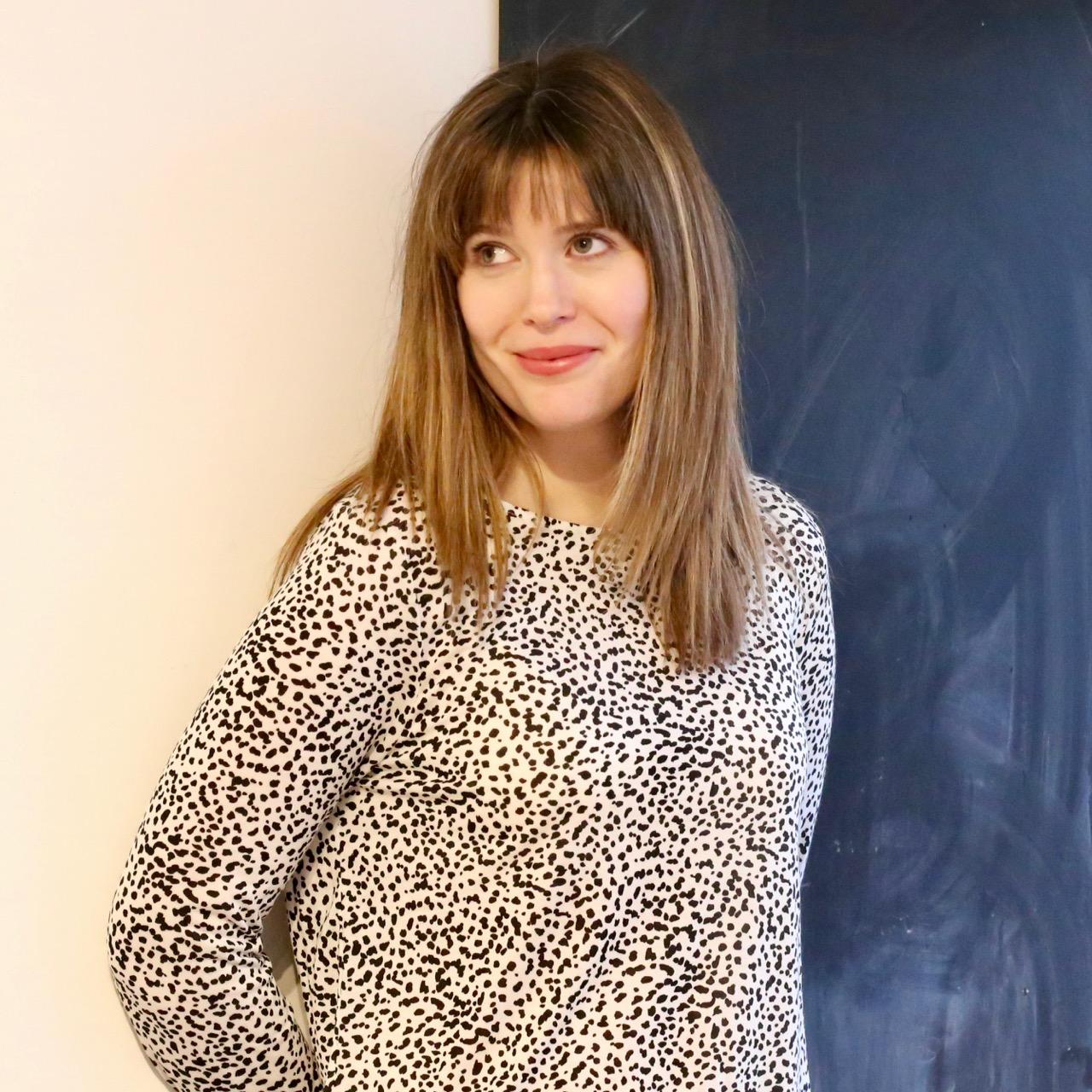S/S18 H&M Dalmatian spot spotty shirt