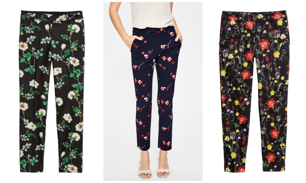 S/S18 Floral trousers