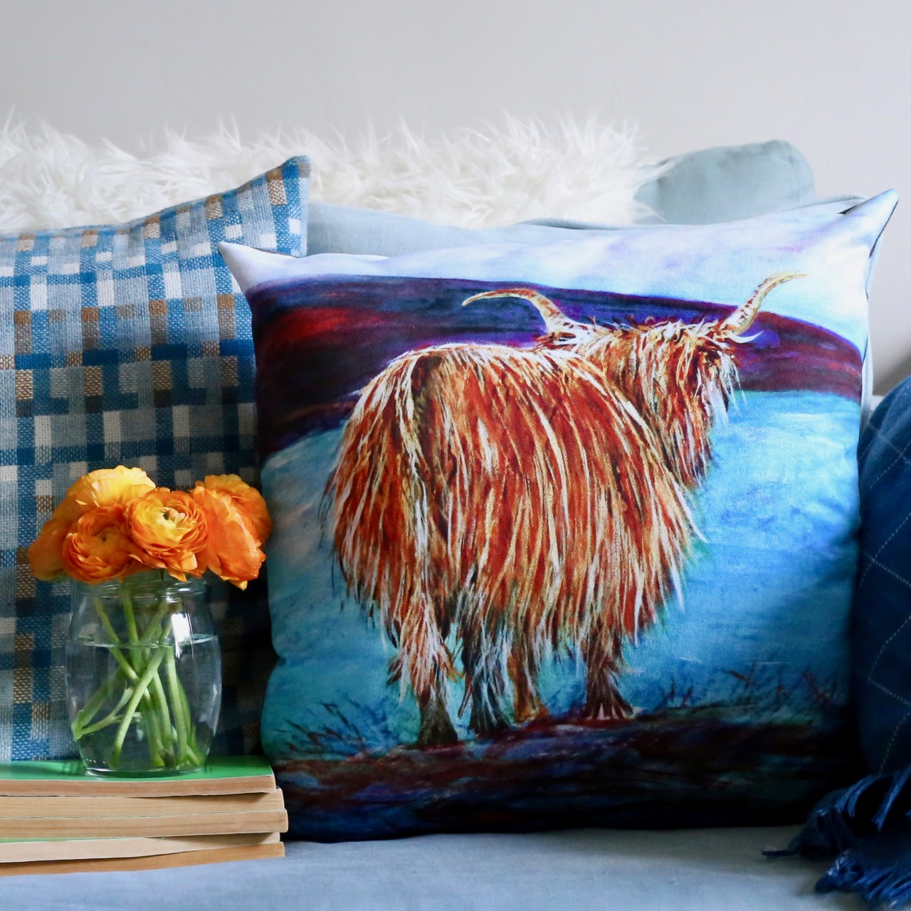 Heather McLennan Cushion from Contempo Stirling