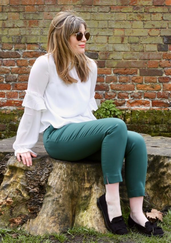 Pale Green Pants