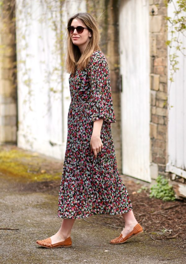 Three reasons why you need a floral dress this spring