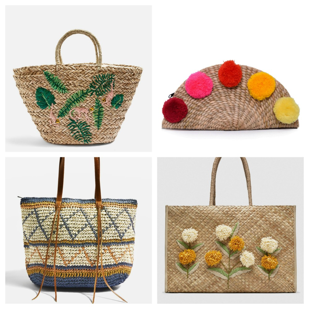 Embellished baskets