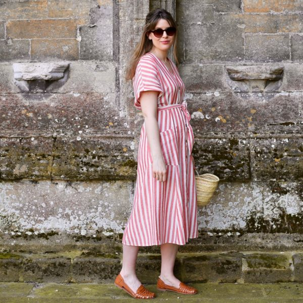Mango striped dress