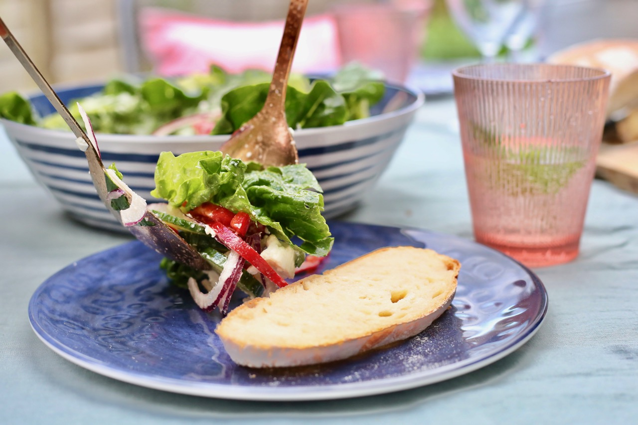 Dining alfresco with Sainsbury's Home