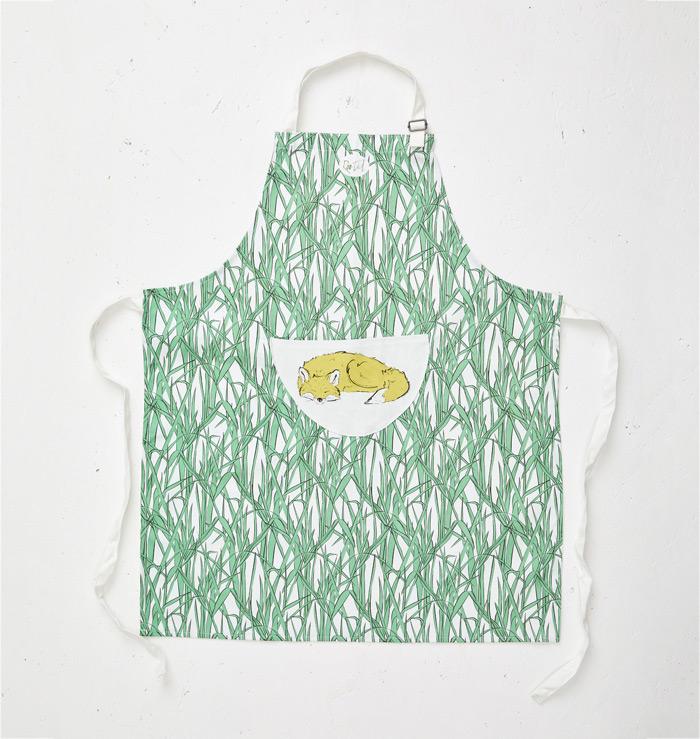 Roo-tid Fox apron