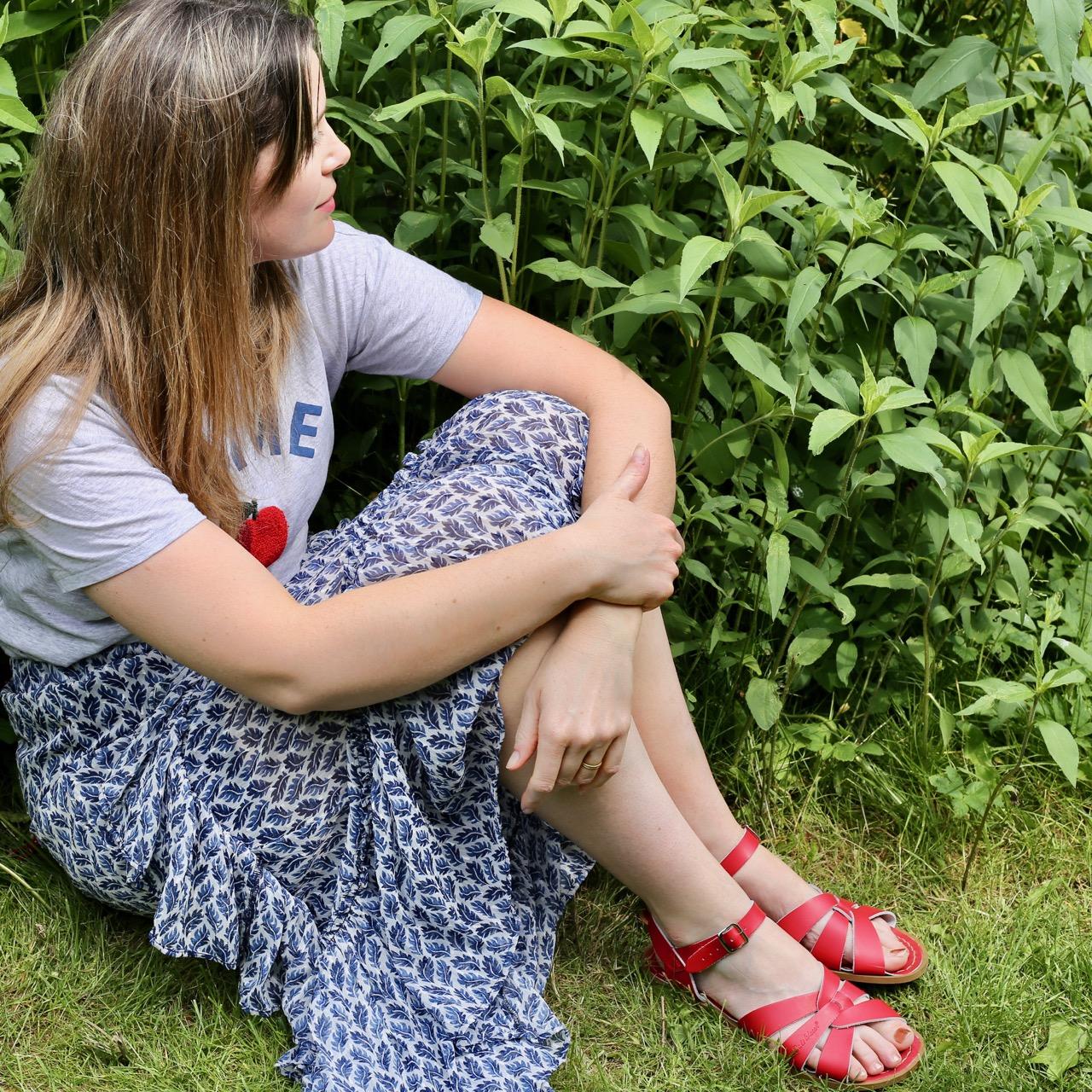 Slogan tees and floral skirts