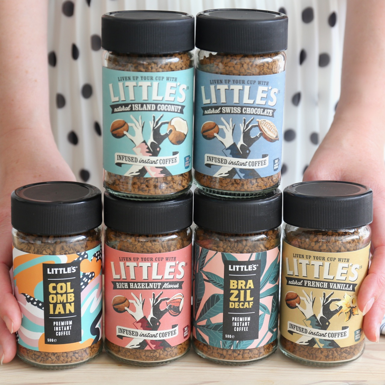 We are Little's flavour infused instant coffee