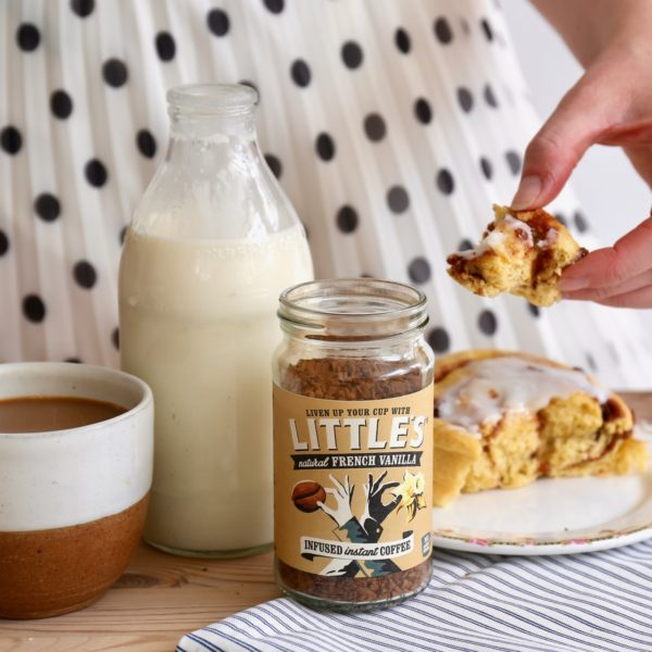 We are Little's vanilla infused instant coffee