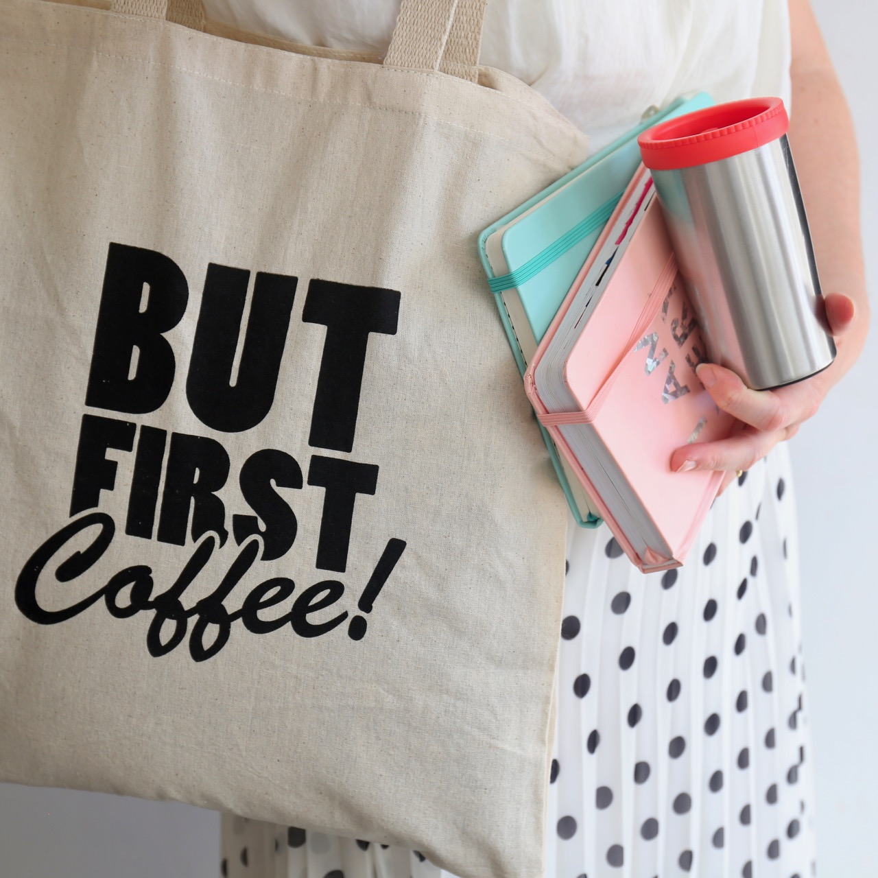 We are Little's coffee on the go bag