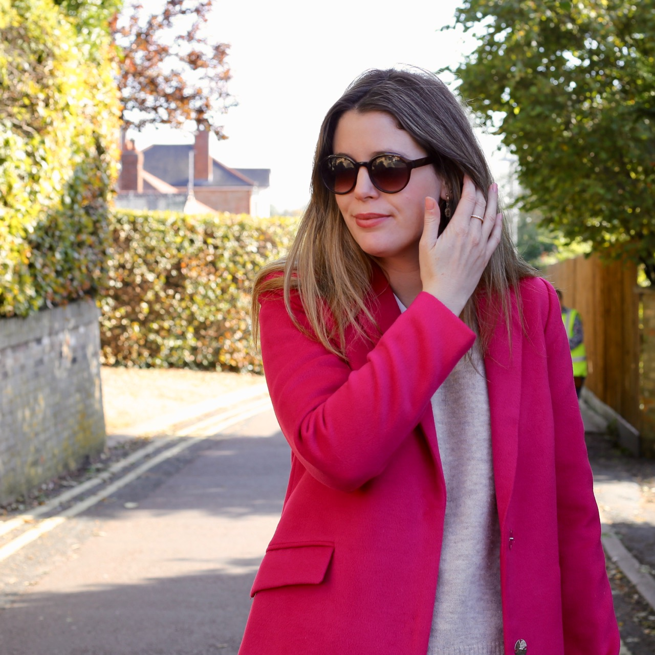 Wear pink and stop blending in