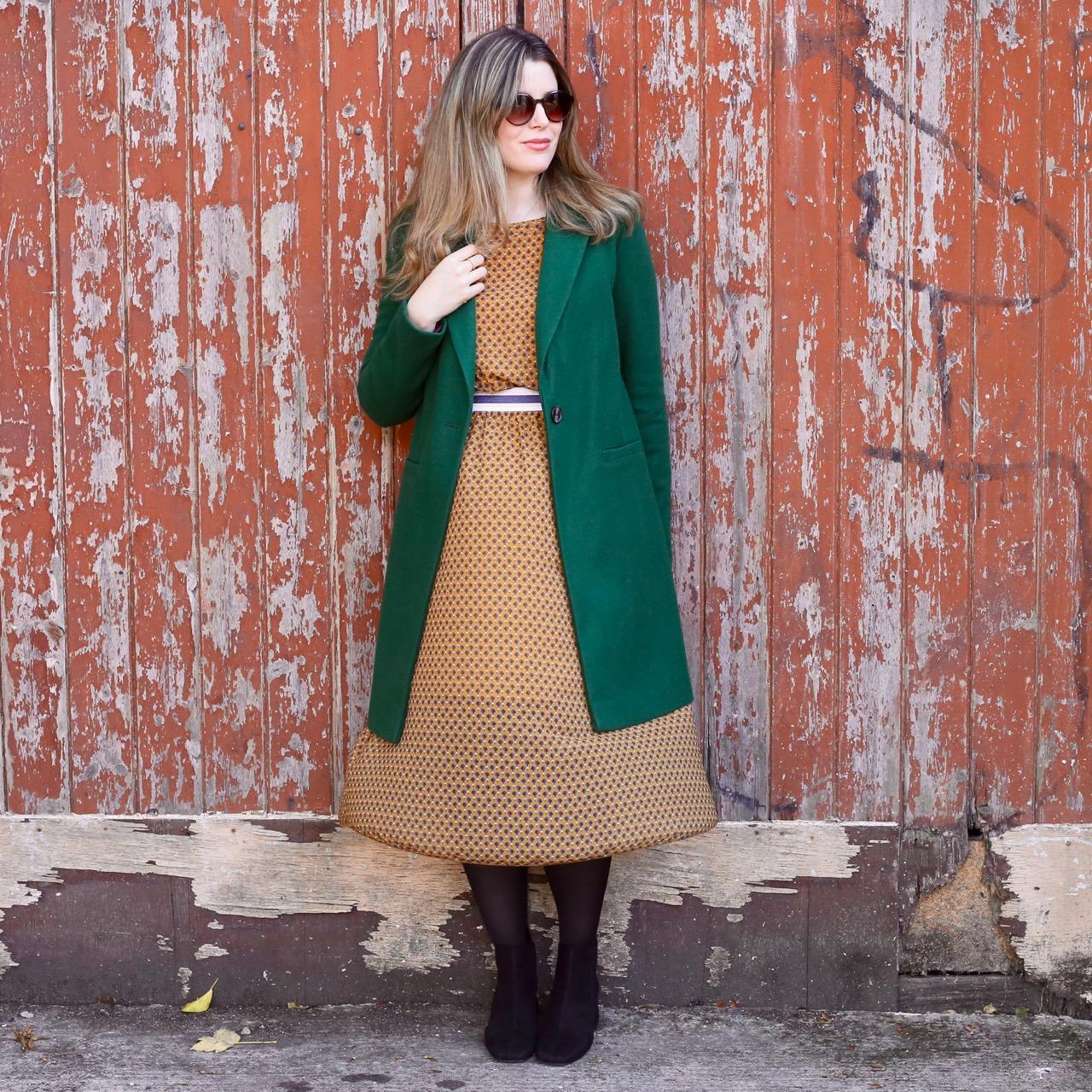 TK Maxx coat and dress