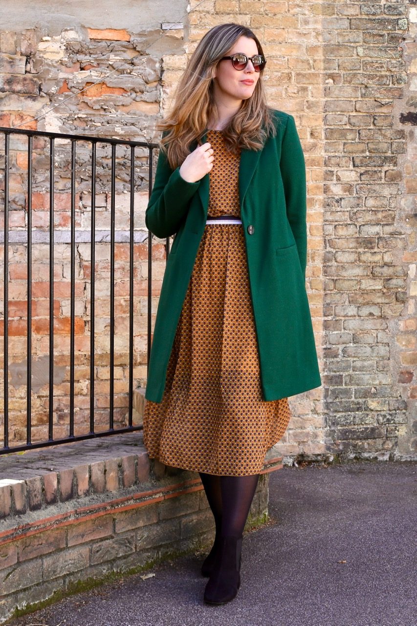 TK Maxx coat and dress