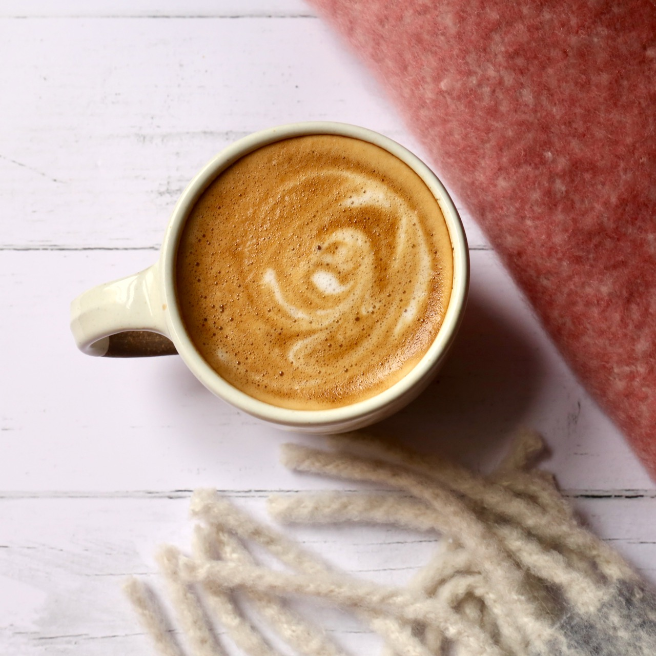 Cosy cup of coffee