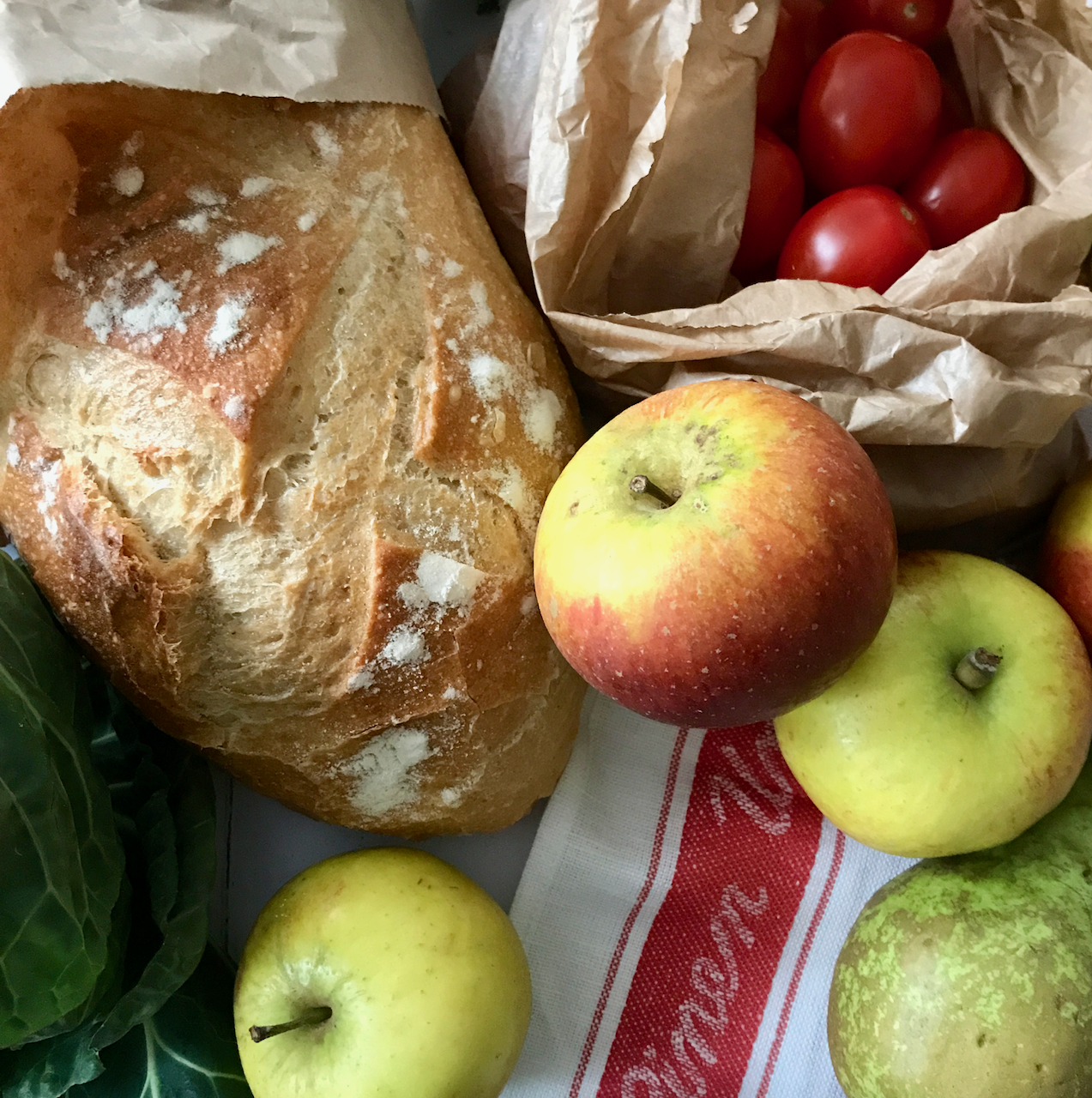 Plastic free shopping at Ely Markets