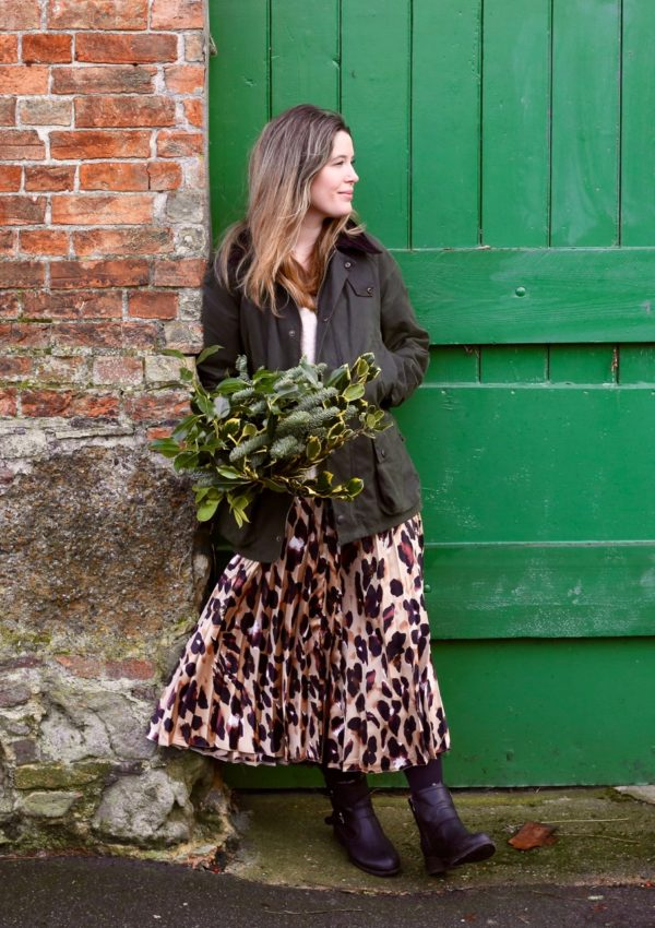 All you need for Christmas is a midi skirt