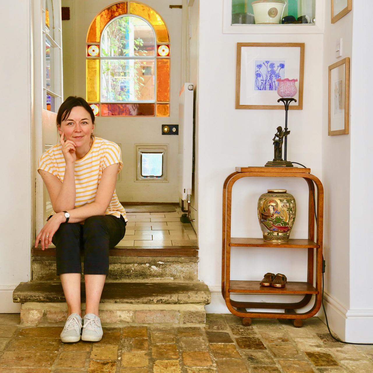 Melanie Goemans, artist at the Window Gallery Ely