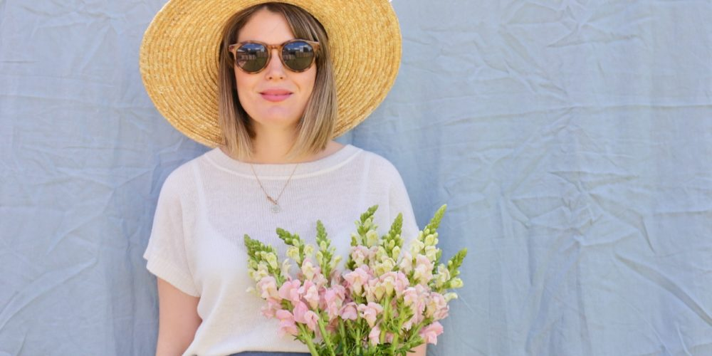 Things to do in July: sunhat and snapdragons