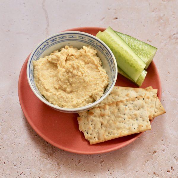 Easy no cook hummus