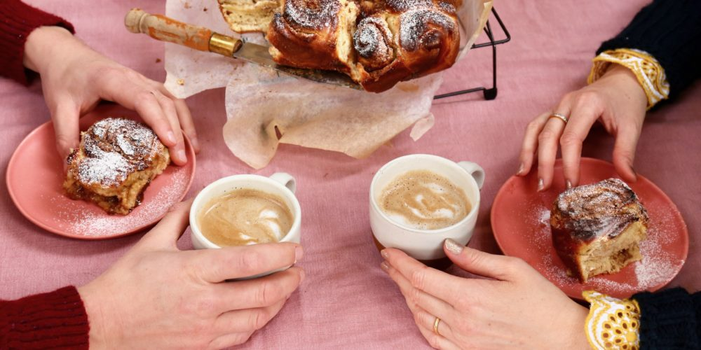 FIKA: cinnamon bun recipe